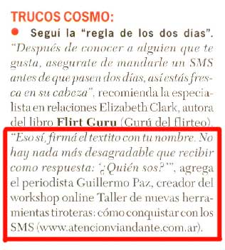 pulpo en revista cosmo 2